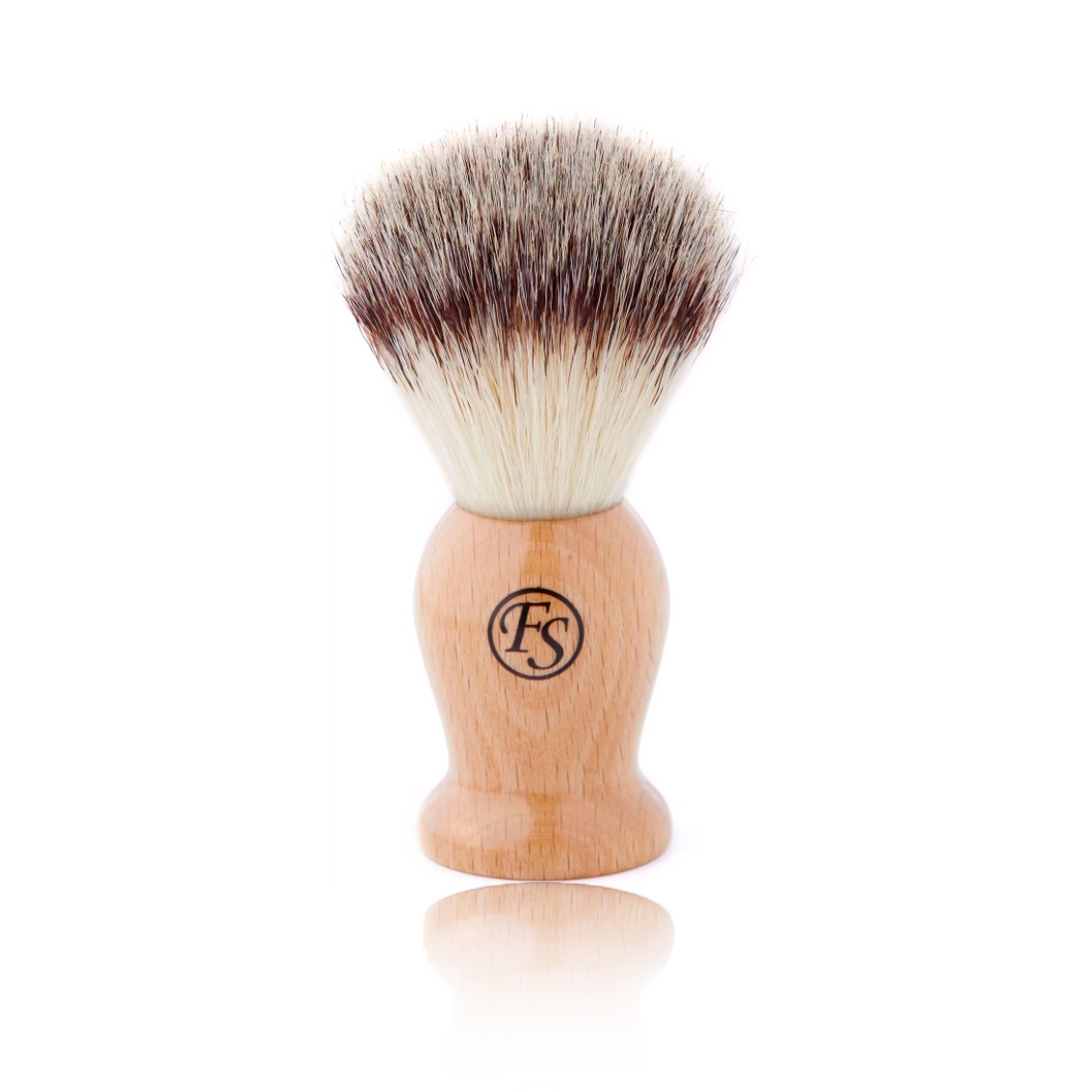 Image of   Frank Shaving Beechwood Barberkost (Synthetic Fibre)