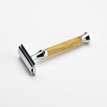 Billede af Giesen & Forsthoff Double Edge Safety Razor Vintage Edition (Oliventre, 100 mm)