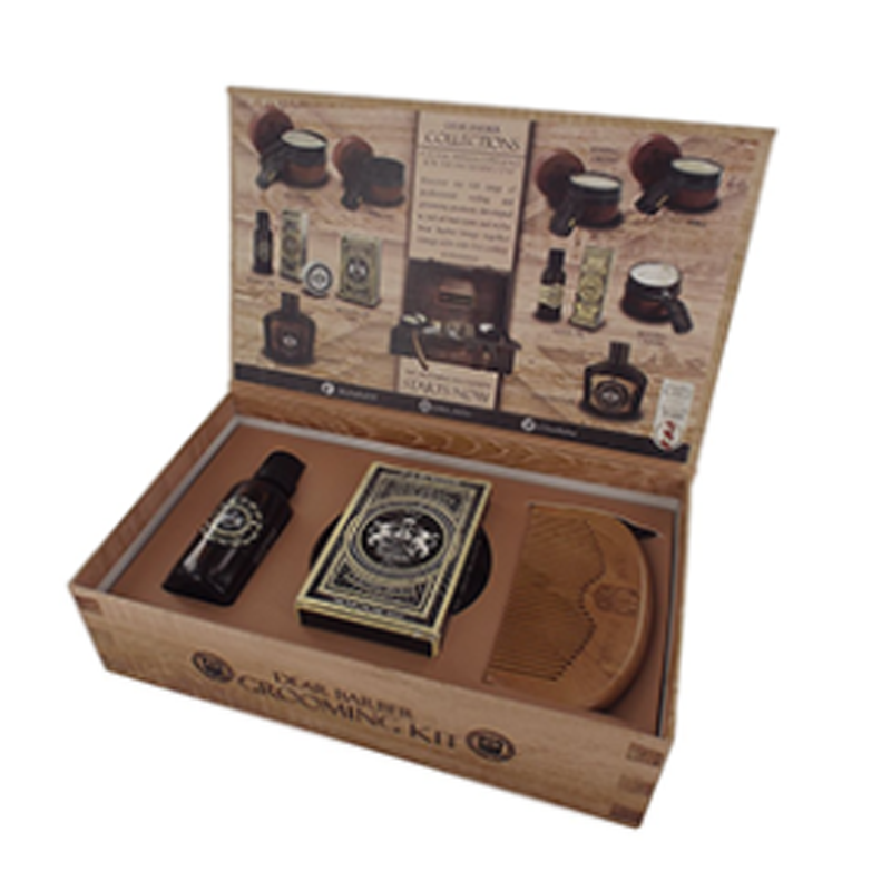 Image of   Dear Barber Giftset Collection 3 Beard Grooming