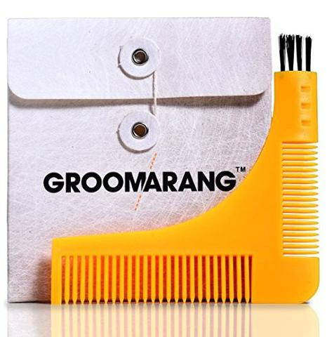 Image of   Groomarang Beard Sharping & Styling Template Comb (1 stk)