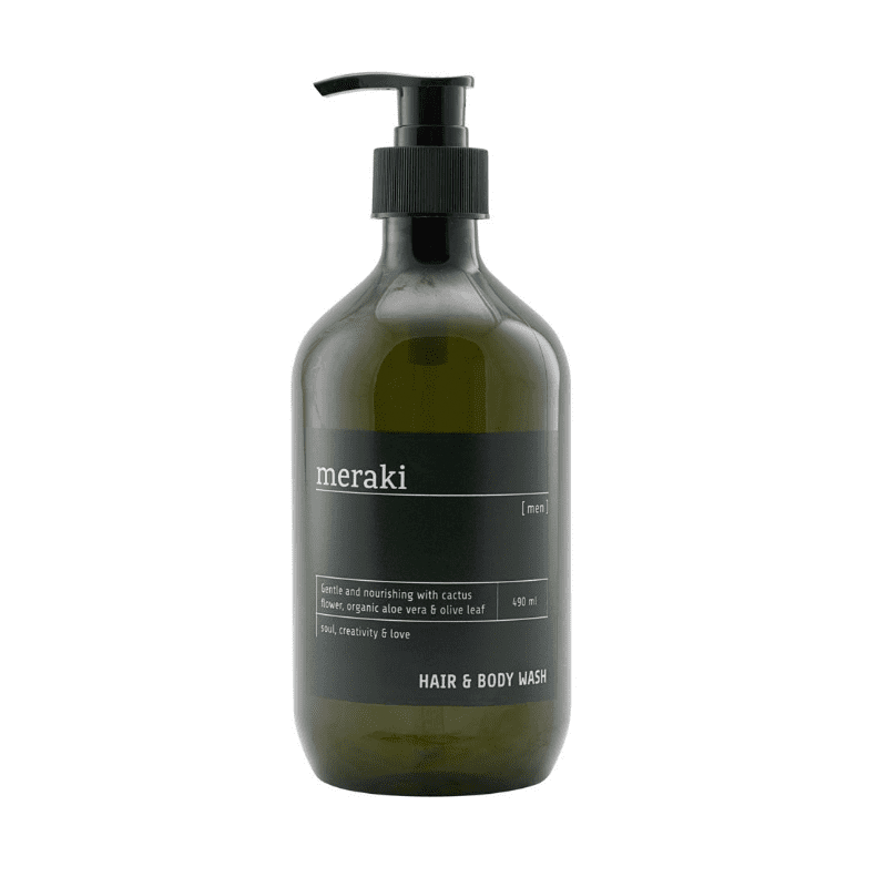Image of   Meraki Men Hair & Body Wash (490 ml)