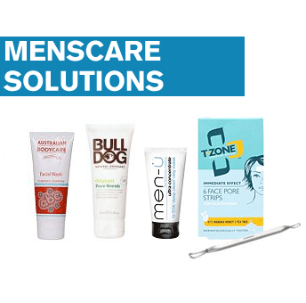 Image of   Menscare Solutions - Face Set (Mot hudormer)