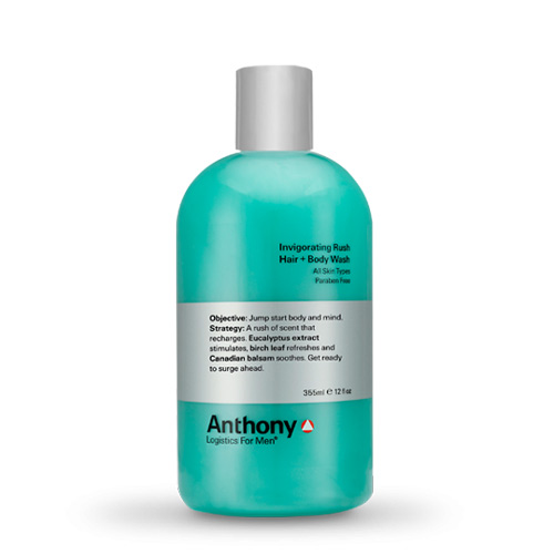 Billede af Anthony Invigorating Rush Hair + Body Wash (355 ml)