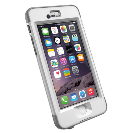 Image of   Lifeproof Nüüd Cover til iPhone 6 (Hvit)