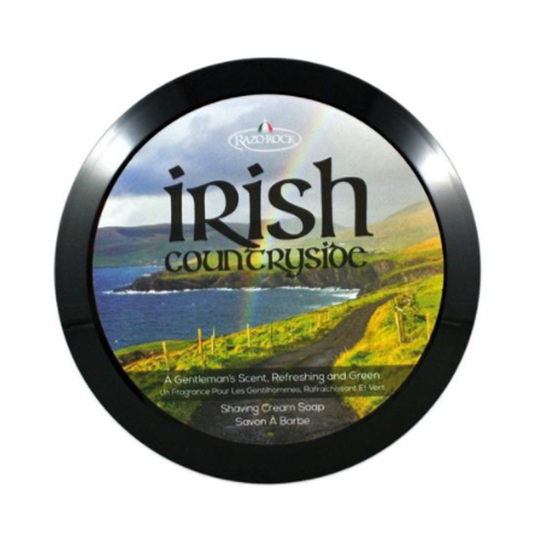 Billede af RAZOROCK Irish Countryside Shaving Cream Soap (150 ml)