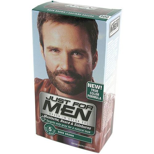 Billede af Just For Men - Skjeggfarge (Dark Brown)