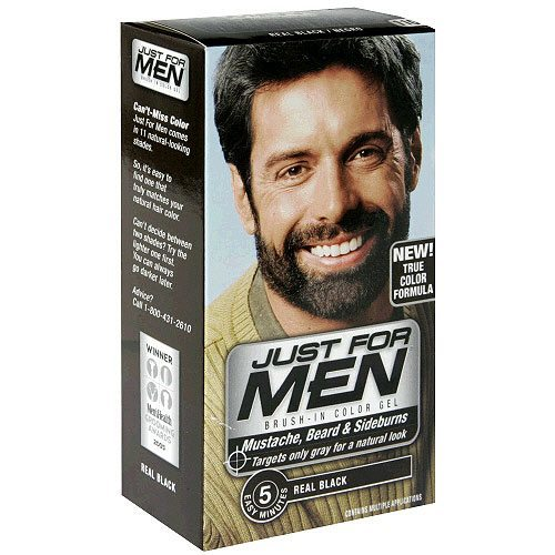 Billede af Just For Men - Skjeggfarge (Real Black)