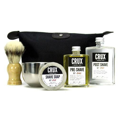 Image of   Crux Supply Co. Deluxe Shaving Kit