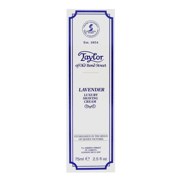 Image of   Taylor of Old Bond Street Barbercreme Lavendel (75 ml)