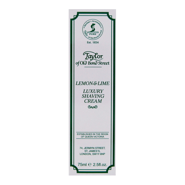 Billede af Taylor of Old Bond Street Barberkrem Lemon & Lime (75 ml)