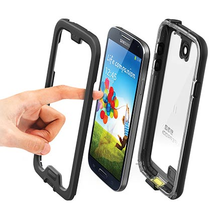 Image of   Lifeproof Nüüd Cover til Samsung Galaxy S4 (Svart)