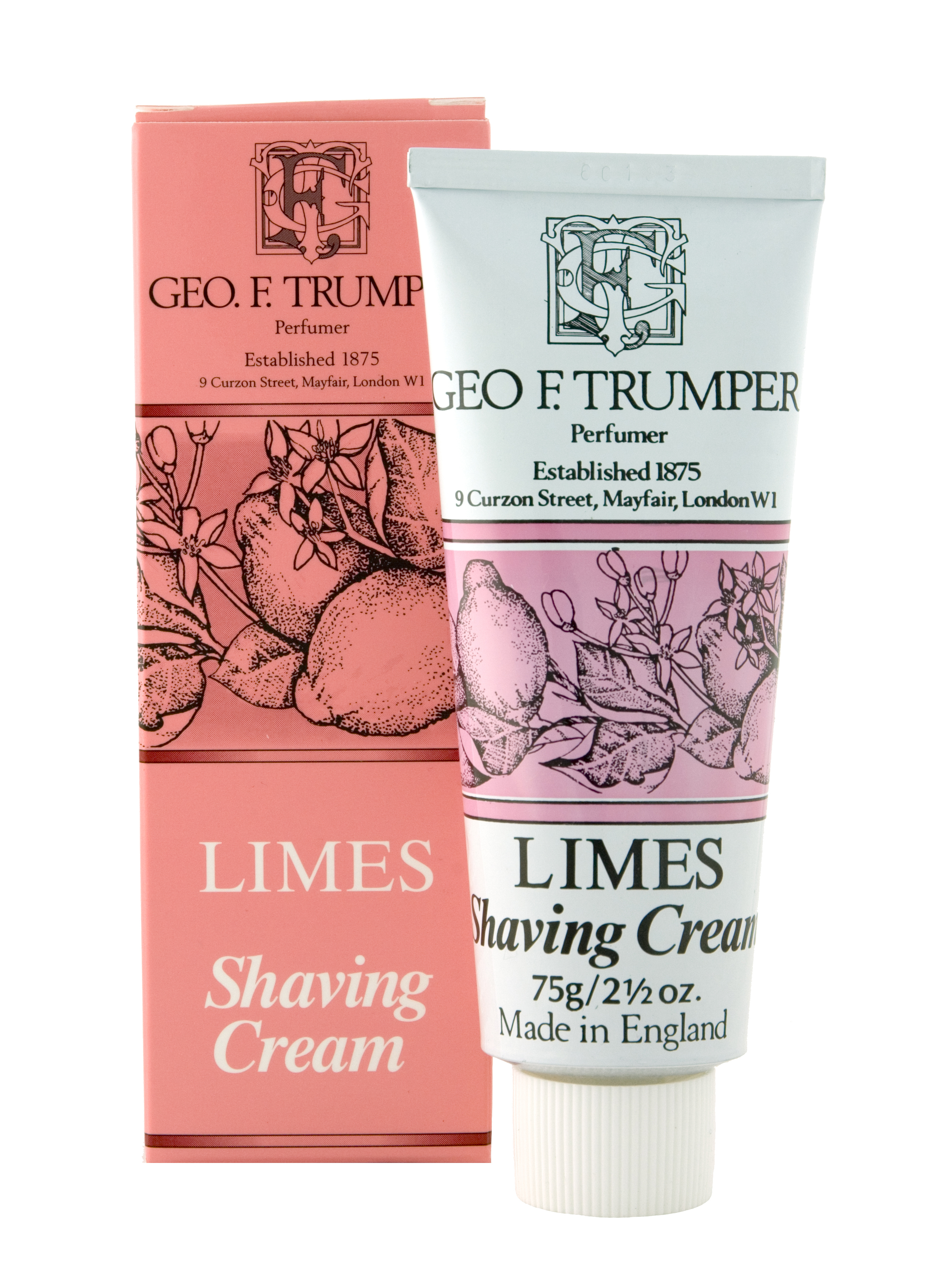 Image of   Geo F. Trumper Barbercreme Limes (75 ml)