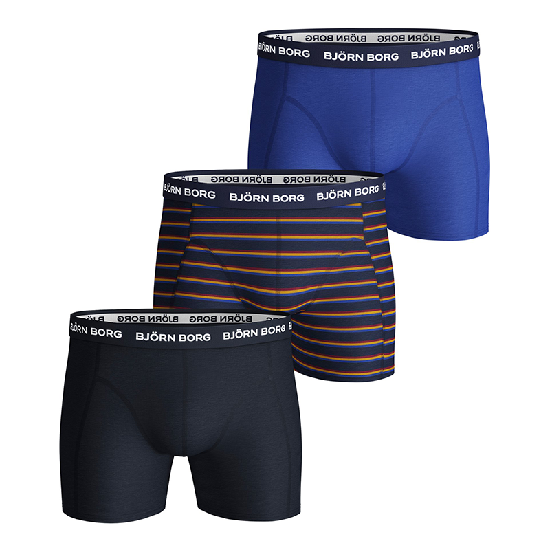 Image of   Björn Borg 3-Pack Boxershorts (French Stripe)