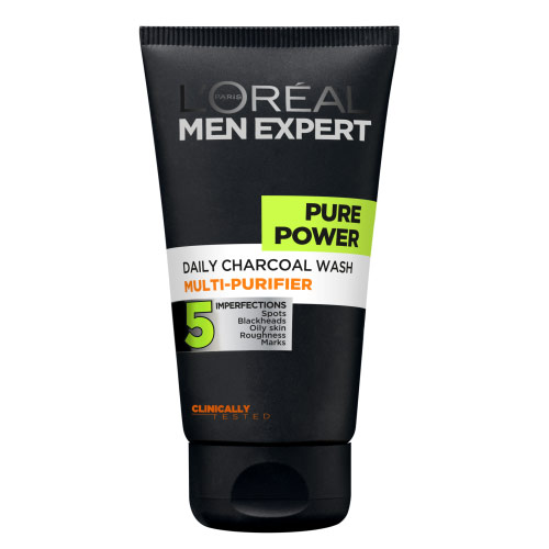 Image of   LOreal Men Expert Pure Power Charcoal Ansiktsvask (150 ml)