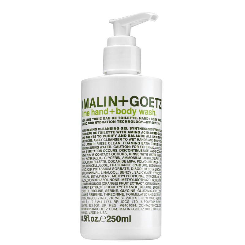 Image of   Malin+Goetz Lime Hand & Body Wash (250 ml)