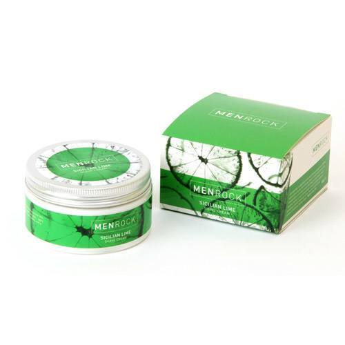 Image of   MenRock Sicilian Lime Shave Cream (100 g)