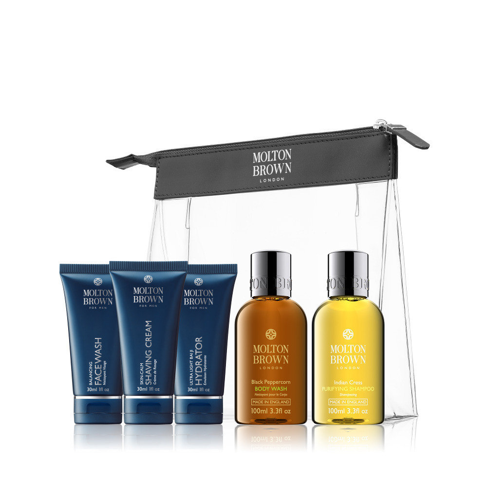 Image of   Molton Brown Mens Travel Luxury Set