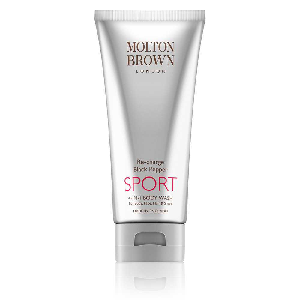 Image of   Molton Brown Re-Charge Black Pepper Sport 4 in 1 Kroppsvask (200 ml)
