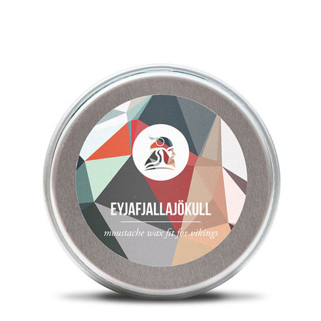 Billede af Fit for Vikings Eyjafjallajökull Moustache Wax (15 ml)