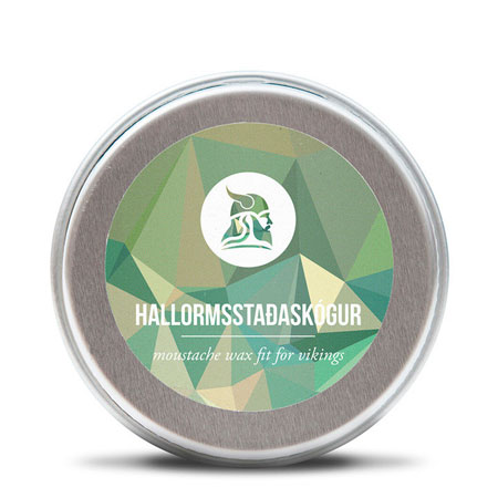 Billede af Fit for Vikings Hallormsstaðaskógur Moustache Wax (15 ml)