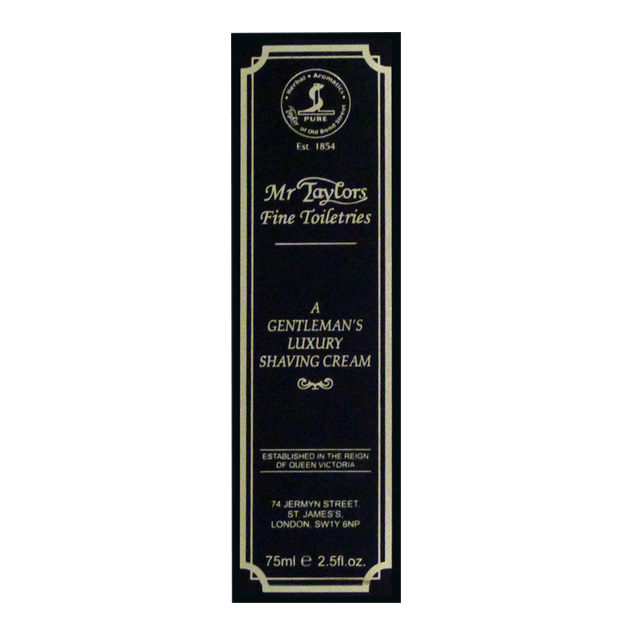 Billede af Taylor of Old Bond Street Barbercreme Mr. Taylor (75 ml)