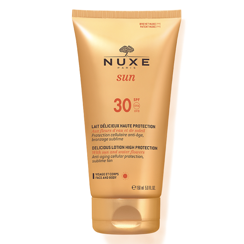 Image of   Nuxe Delicious Face & Body Lotion SPF30 (150 ml)