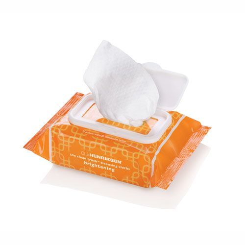 Image of   Ole Henriksen The Clean Truth Cleansing Cloths - Brightening (30 stk)