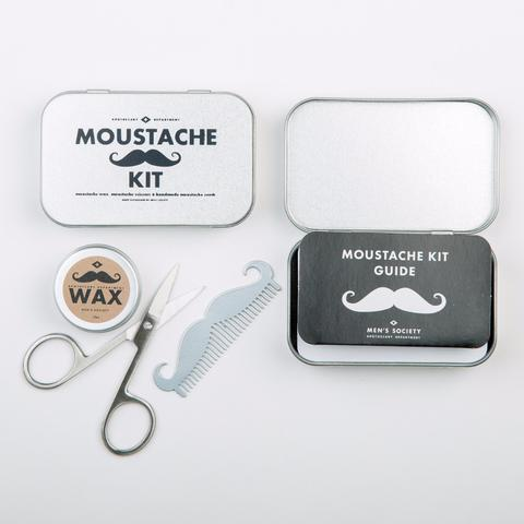 Image of   Mens Society Moustache Grooming Kit