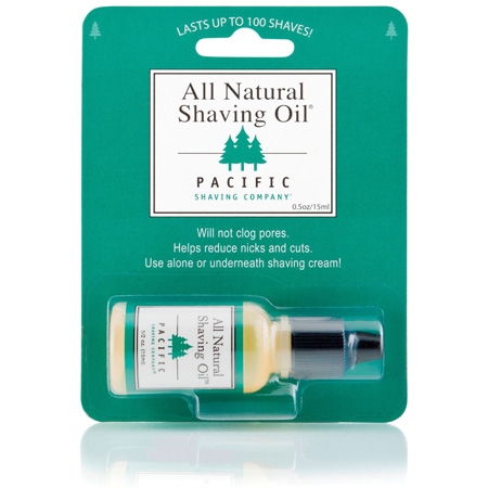 Billede af Pacific Shaving All Natural Barberoile (15 ml)