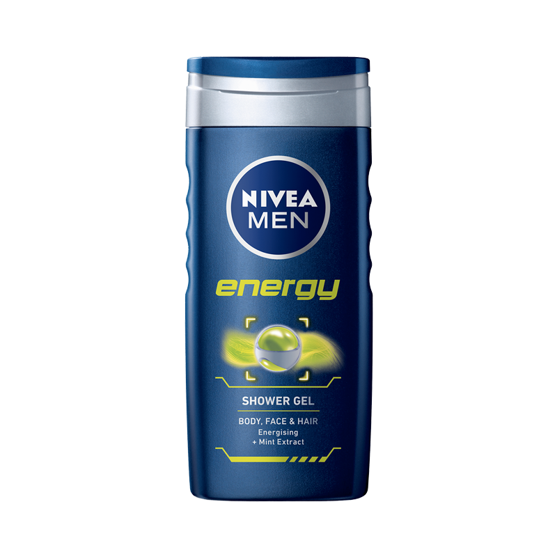 Image of   Nivea for Men Energy Shower Gel (250 ml)