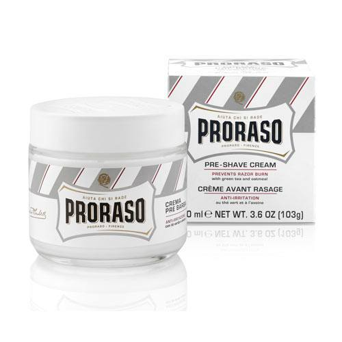 Image of   Proraso Pre-Shave Cream - Green Tea & Oatmeal (100 ml)