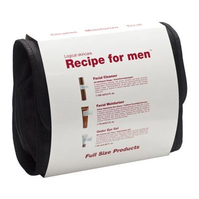 Billede af Recipe For Men Face Set Inkl. Toalettmappe