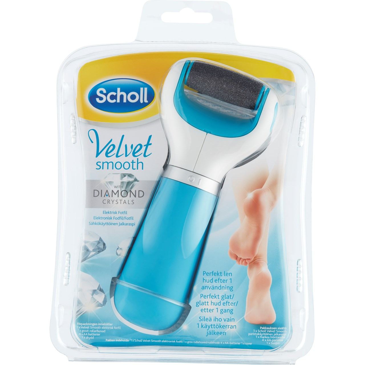 Image of   Scholl Velvet Smooth Diamond Elektronisk Fotfil