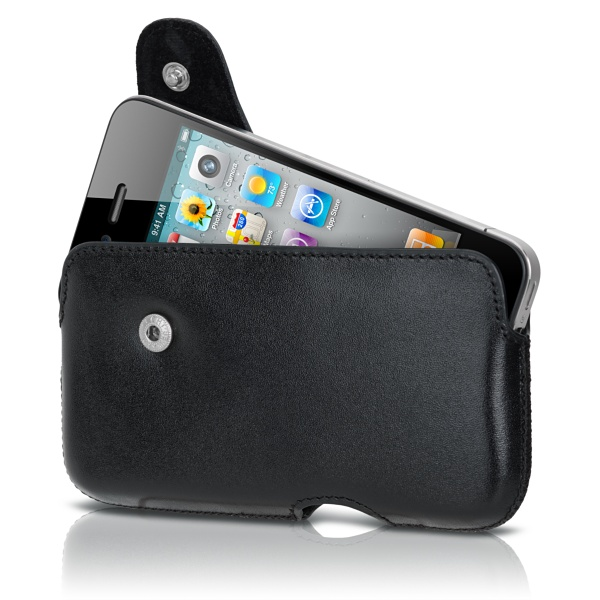 Image of   Sena Laterale Pouch iPhone 4/4S (Svart)