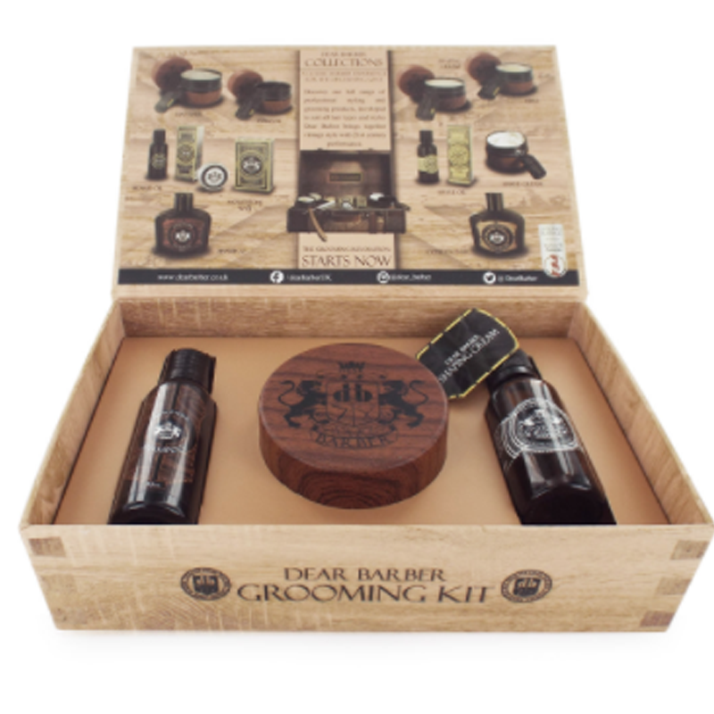 Image of   Dear Barber Giftset Collection 5 Shaping Cream