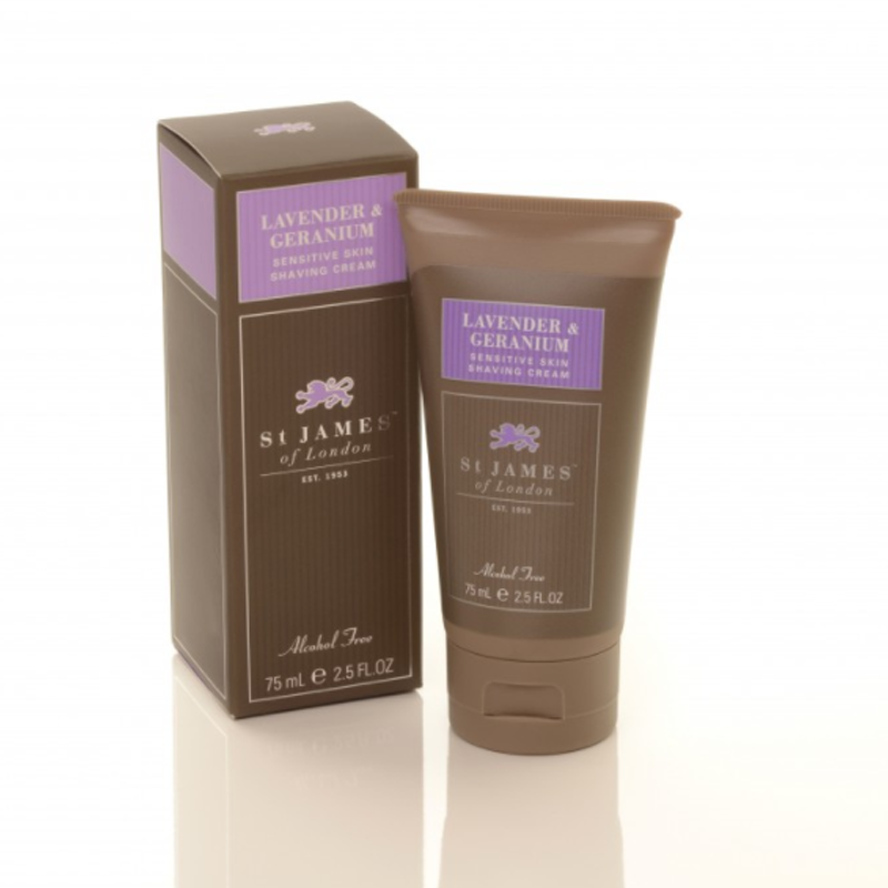 Image of   St. James L&G Shave Cream Travel Tube (75ml)