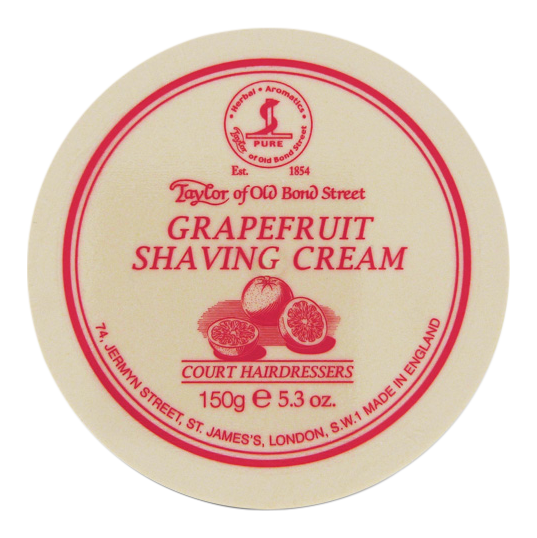 Image of   Taylor of Old Bond Street Barbercreme Grapefrukt (150 gr)
