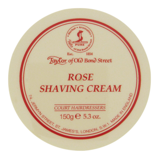 Image of   Taylor of Old Bond Street Barbercreme Rose (150 g)