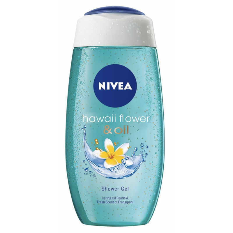 Image of   Nivea Hawaii Flower & Oil Shower Gel (250 ml)