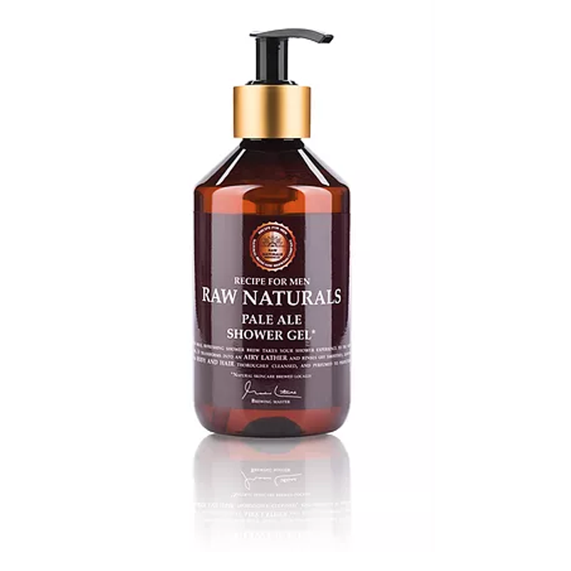 Image of   Raw Naturals Pale Ale Shower Gel (300 ml)