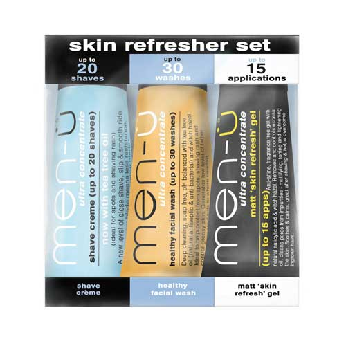 Image of   Men-Ü Skin Refresher Set (3 x 15 ml)