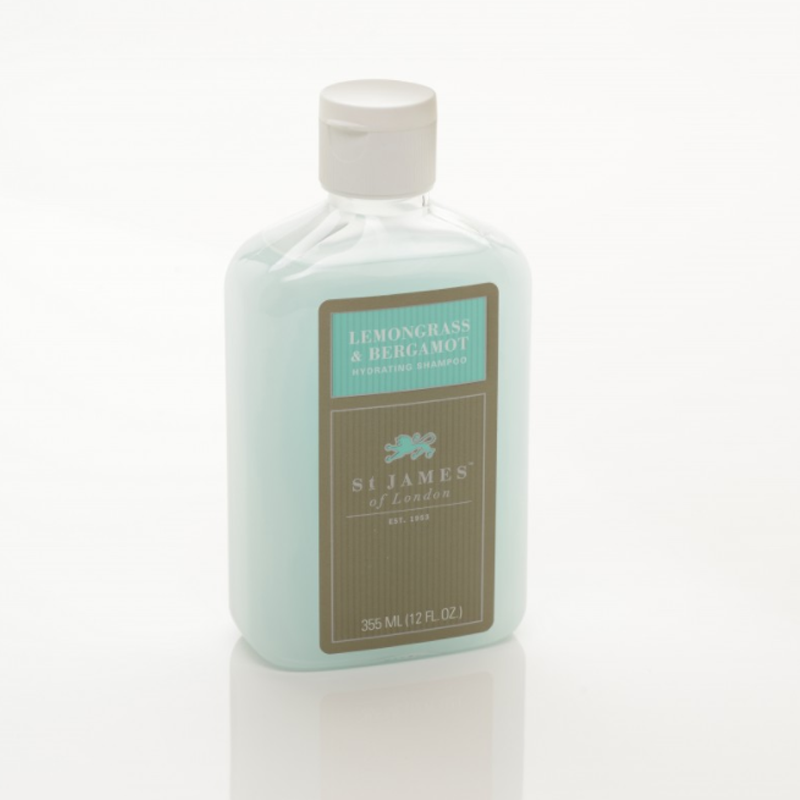 Image of   St. James Lemongrass & Bergamot Hydrating Sjampo (355ml)