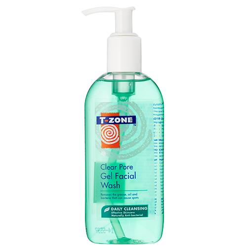 Image of   T-Zone Clear Pore Gel Facial Wash (200 ml)