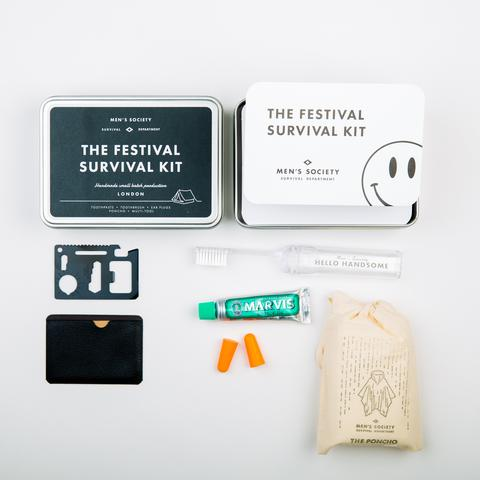 Image of   Mens Society Festival Survival Kit
