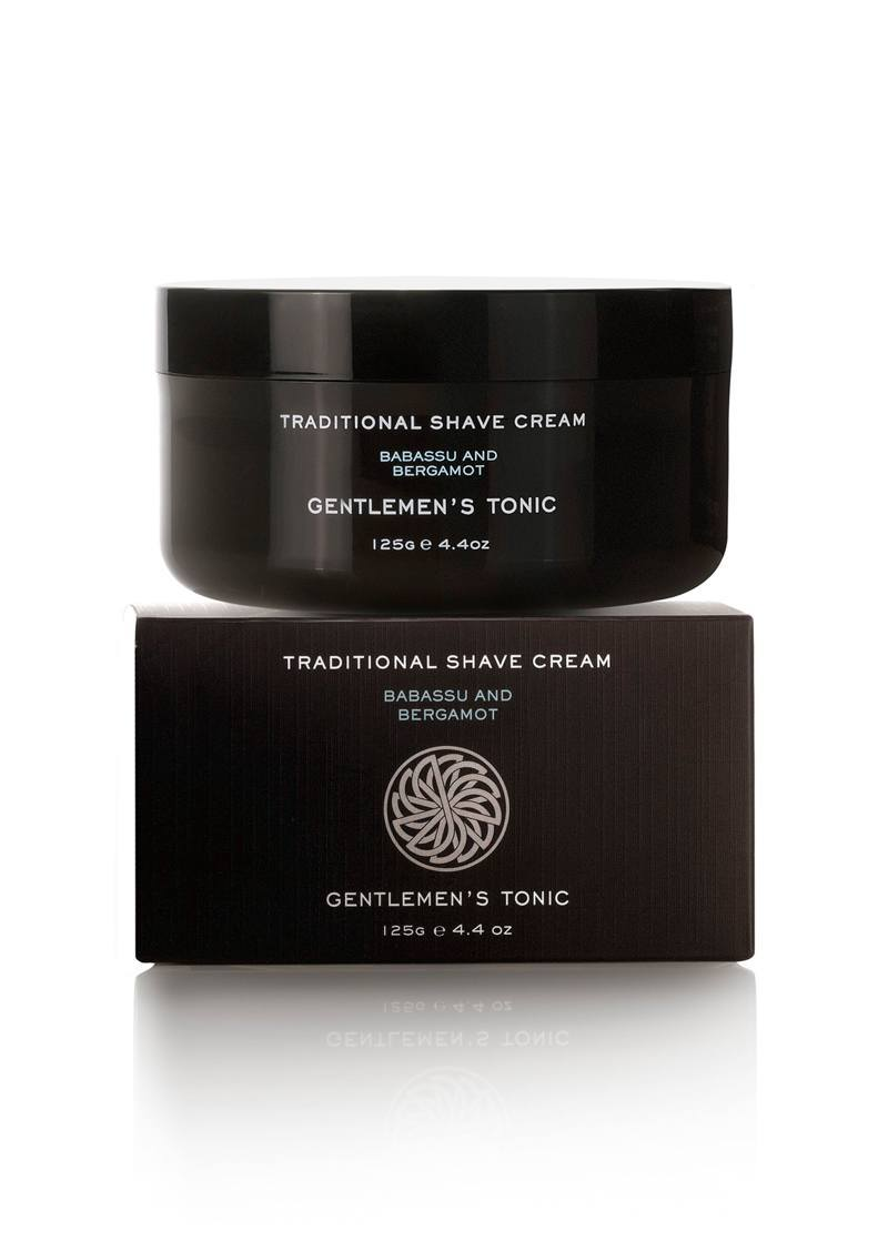 Image of   Gentlemens Tonic Traditional Shave Cream (125 g)