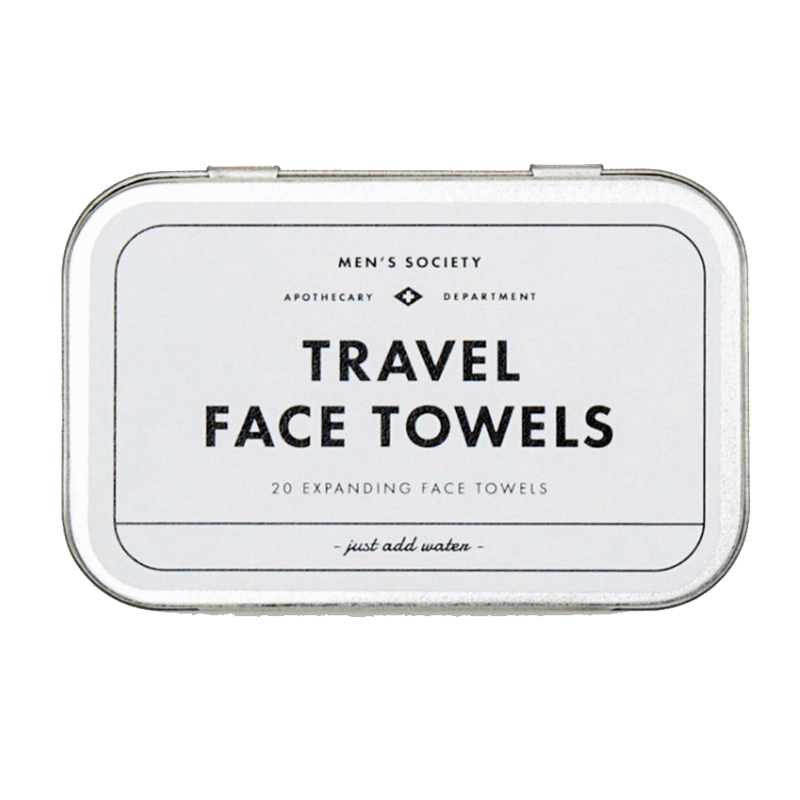 Image of   Mens Society Travel Face Towels