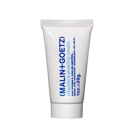 Image of   Malin+Goetz Vitamin E Shaving Cream (29 ml)